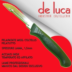 "PELA PATATE  INOX ""DE LUCA"""